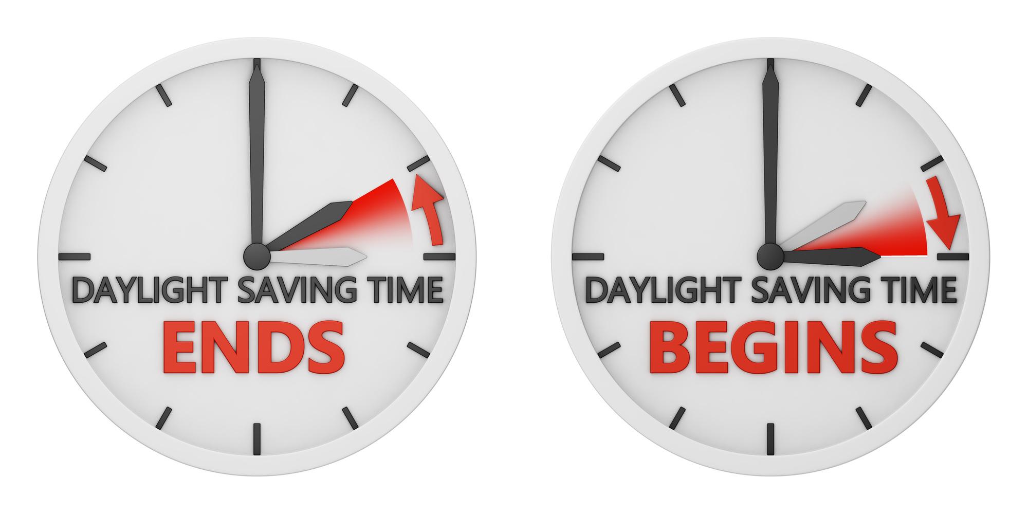 how to change daylight saving
